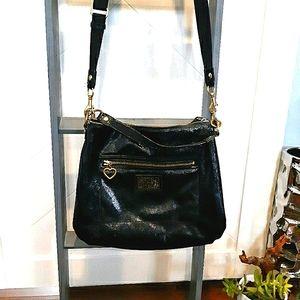 Coach Poppy large crossbody purse mint & authentic